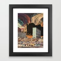 The City's Been Dead (si… Framed Art Print