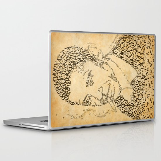 obama in the font of times 02 Laptop & iPad Skin