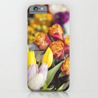Market Tulips iPhone 6 Slim Case