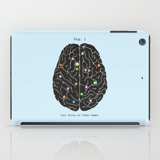 Your Brain On Video Games iPad Case