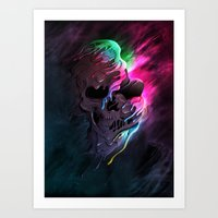 Life In Death Art Print