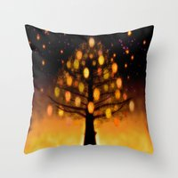 TREE OF KNOWLEDGE - 224 Throw Pillow