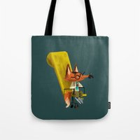 Fox Boss Tote Bag