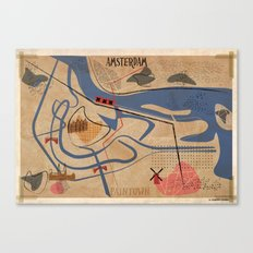06_Paintown_Amsterdam Canvas Print