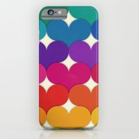 iPhone & iPod Case featuring Rainbow Hearts by Krystal Nicole