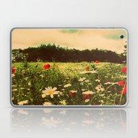 Poppies In Pilling  Laptop & iPad Skin