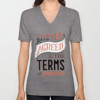 Terms and Conditions Unisex V-Neck
