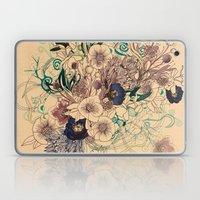 Zentangle Floral Mix Laptop & iPad Skin