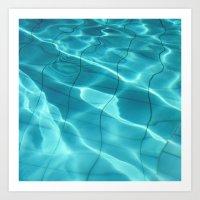 Water / H2O #54 Art Print