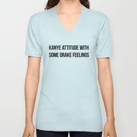 Attitude and Feelings Unisex V-Neck