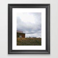 Fran's Farm Framed Art Print