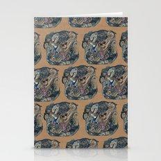 mind-face Stationery Cards