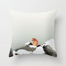 Solitude II Throw Pillow