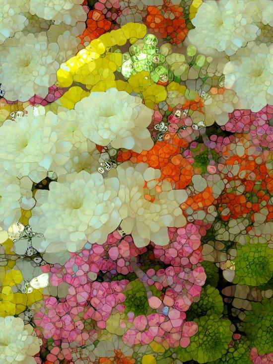 Joyous Spring Bouquet Art Print