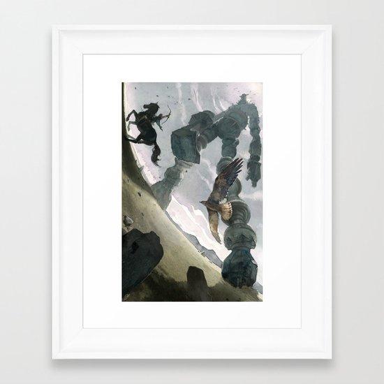 Shadow (Large Format) Framed Art Print