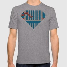 Workers Mens Fitted Tee Athletic Grey SMALL