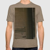 blinded Mens Fitted Tee Tri-Coffee SMALL