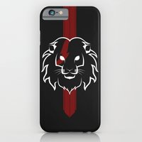 Monarch (White & Red) iPhone 6 Slim Case