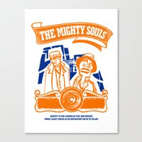 The Mighty Souls: Hip Ho… Canvas Print