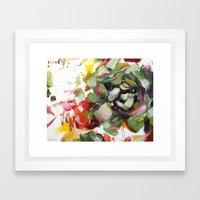 flower arrangement 5 Framed Art Print