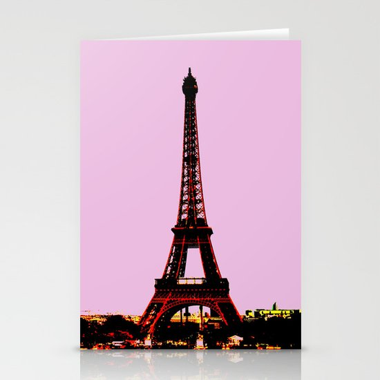 paris. Stationery Card