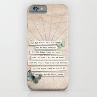 Reiki Principles No.2 iPhone 6 Slim Case