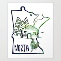 Northland Love Art Print