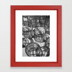 drink away reality Framed Art Print
