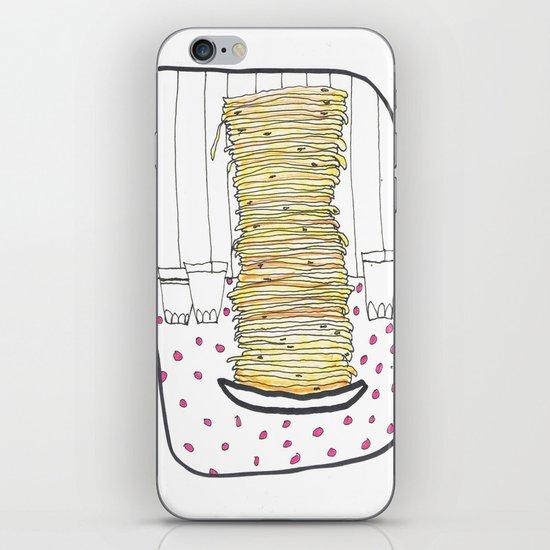 Pancakes iPhone & iPod Skin