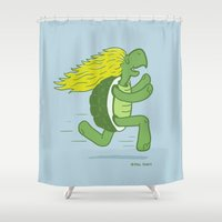 Tortoise and that Hair Shower Curtain