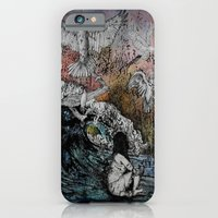 iPhone & iPod Case featuring Feet of Crows by Leanna Rosengren