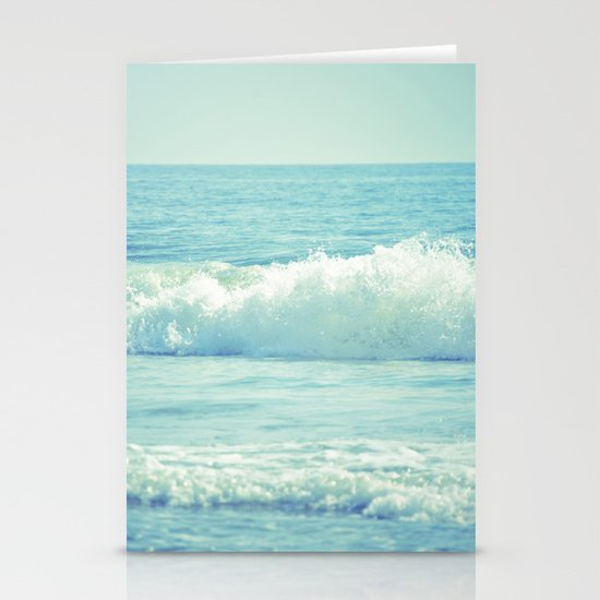 The Waves Stationery Card