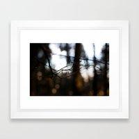 Abstract Wood Framed Art Print