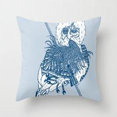 killer beard brah! Throw Pillow