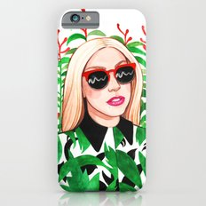 Lady and Photinia iPhone 6 Slim Case