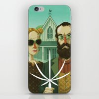 American Gothic High iPhone & iPod Skin