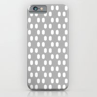 iPhone & iPod Case featuring Aelbrecht Grey Pattern by Stoflab