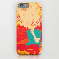 iPhone Cases featuring Mountain High by Rendra Sy