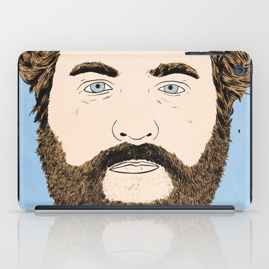 Zach Galifianakis iPad Case
