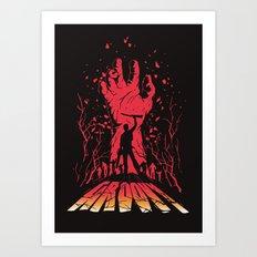 Groovy Art Print