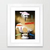 Composition 530 Framed Art Print