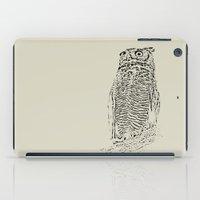 Inked Owl iPad Case