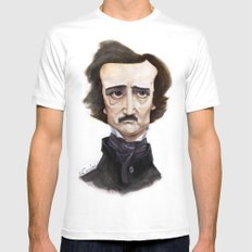 Poe Mens Fitted Tee White SMALL