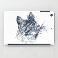 Cat Portrait iPad Case