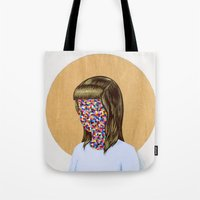 6x6 Woman Tote Bag