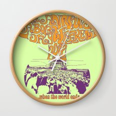 When the World Ends Wall Clock