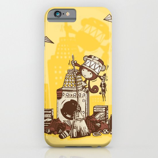 Laundry Monkie iPhone & iPod Case