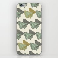 vintage mermaid iPhone & iPod Skin