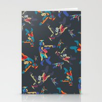 Colourful Astronaut Stationery Cards