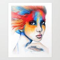 Colourblind // Fashion I… Art Print